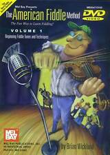 AMERICAN FIDDLE METHOD VOLUME 1 NEW BEGINNER DVD