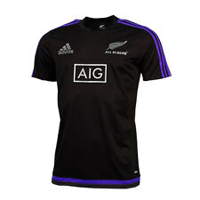 Adidas Rugby T-Shirt All Blacks XL NEU Etikett New Zealand AIG Polo Adizero