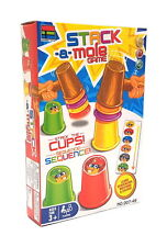 Party Family Board Game STACK A MOLE Hammer the Cups Sequence (For 2+ Player)