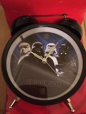 STAR WARS ROGUE ONE FILM CHILDRENS WAKE UP ALARM CLOCK RETRO DIGITAL LIGHT UP