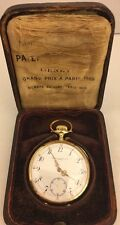 Patek Philippe 18k gold pocket watch with quarter repeater antique 23 Jewel