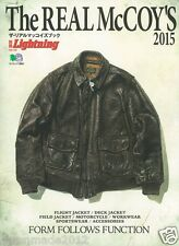 The REAL McCOY'S 2015 Catalogue Magazine Book WW2 Flight Rider Deck Jacket Buco