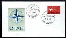 Luxembourg - 1969 20 years NATO - Mi. 794 clean FDC