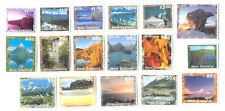 New Zealand scenery set of 17(1925-1935)mnh