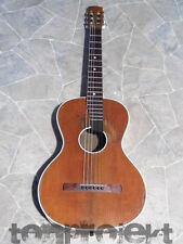 fine vintage all solid parlor parlour GUITAR Gitarre guitare Germany 1940s