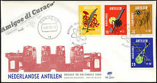 Netherlands Antilles 1970 Mass Media FDC First Day Cover #C26622