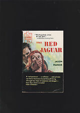 VINTAGE.U.K.PB.THE RED JAGUAR.CORGI BOOK#S515