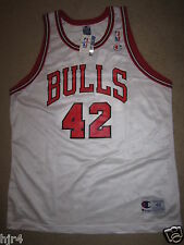 Elton Brand #42 Chicago Bulls NBA Champion Jersey 48 NEW Autograph