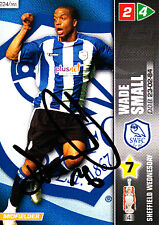 Sheffield Wednesday F.C Wade Small Hand Signed Championship 2008 Panini Card.