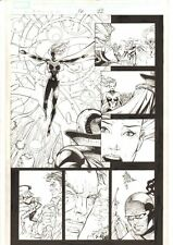 X-Men: The End #16 p.22 Dazzler & Storm Combine their Powers - 2006 by Sean Chen
