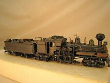 4 Truck Logging Steam Engine Shay - custom weathered, handcrafted - lot 16 - HO