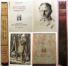 CURIOSA/ROUTE CAVALIERE DE LA SOLITUDE/A.BILLY/ED LAPINA/1928/PIDOLL ILL/EO