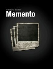 POSTER MEMENTO CHRISTOPHER NOLAN GUY PEARCE CARRIE-ANNE MOSS LOCANDINA CINEMA #1
