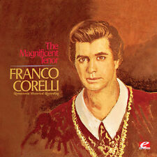 Magnificent Tenor - Franco Corelli (2013, CD NEUF) CD-R