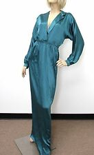 $1800 NEW Authentic Gucci Silk Long Dress sz 40, 272922