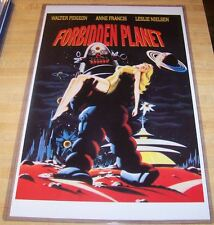 Forbidden Planet Robby the Robot 11X17 Movie Poster