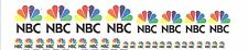 NBC  News  Satellite TV  Transmission Truck    HO  Decal Set
