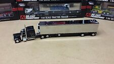 DCP 1:64 Custom Peterbilt Pete 389 semi truck cab /53' chrome reefer trailer 379