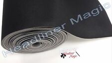 "BLACK AUTOMOTIVE HEADLINER UPHOLSTERY FABRIC 3/16"" FOAM BACKING 60""L X 60""W"