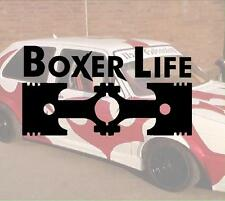 Boxer Life Cool Bitch Hater JDM Sticker Aufkleber oem Power fun like Shocker