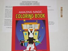 Amazing Magic Coloring Book Trick - Kids Parties, Pages Change, Stage, Close-Up