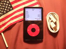 U2 RED iPod Video 5th 5.5th Gen 256GB 20000 tracks MADE IN USA 240GB/160GB/120GB