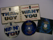 INSPIRAL CARPETS Ft MARK E SMITH I Want You 1994 UK 2 x CD Box Set – Indie Rock