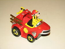 Disney Mickey Mouse Clubhouse Goofy Firetruck Pullback Racer Car Fire Truck 5""
