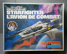 Maquette Buck Rogers Starfighter / Avion de Combat - Monogram Model Kit 1979