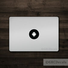 Android - Mac Apple Logo Cover Laptop Vinyl Decal Sticker Macbook Droid Google