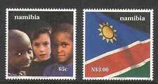 Namibia 2000 10th Independence/Flag/Child 2v set n20147