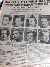 T1-6 Ephemera 1959 1 Page Actress Deborah Kerr The Journey Contest