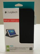 * NEW IN BOX* Logitech Folio Case for 7-Inch Samsung Galaxy Tab 3 - Carbon Black