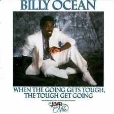 """BILLY OCEAN When The Going Gets Tough (Extended Version) 12"""" Record Jive 1986 EX"""