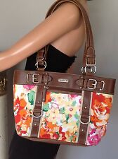 Bag Purse Chaps Floral Designer Fashion Soring Summer Stylish Chic Leather  Like