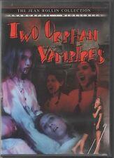 TWO ORPHAN VAMPIRES U.S. Region 1 DVD Shriek Show Jean Rollin Brigitte Lahaie