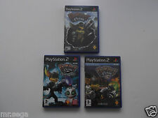 RATCHET AND CLANK 1, RATCHET AND CLANK 2 & RATCHET AND CLANK 3 for PLAYSTATION 2