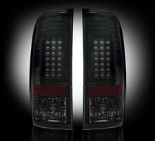99-07 Ford Superduty & 97-03 F150 SMOKED LED Tail Lights RECON Premium Lighting