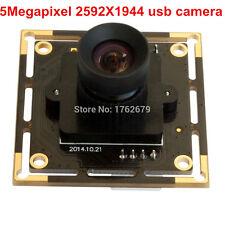 HD 5MP CMOS Camera Module Aptina MI5100 2592x1944 100degree No Distortion Lens