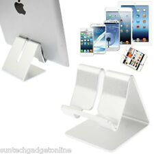Aluminium Desktop Desk Stand Station Holder For Smart Mobile Phones & Tablets