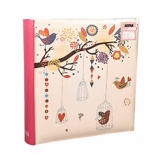 Large Vintage Style Memo Photo Album 10 x 15 cm Holds 200 Photos - LB200