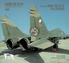 Verlinden Book Lock On No.19 Mikoyan MiG-29 A/C Fulcrum Jet Fighter Aircraft 762