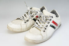 Auth Dolce&Gabbana D&G Men's Sneakers White US Size:7 Free Ship 603f35