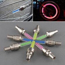 8x LED Ventilkappen Speichenlicht bunt für Fahrräder Autos Fahrrad Ventil Licht