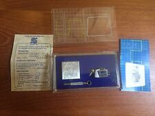 STANTON 881S CARTRIDGE AND GENUINE STANTON D81 STYLUS IN Plastic case