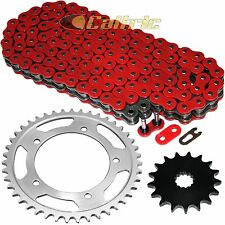 Red O-Ring Drive Chain & Sprockets Kit Fits SUZUKI DL1000 VStrom 1000 2006-2012