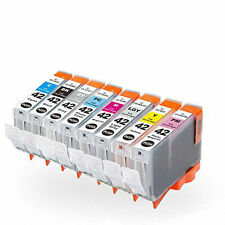 Combo 8-PACK CLI-42 Black/Color Ink Cartridge Set for Canon PIXMA PRO-100