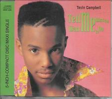 TEVIN CAMPBELL - Tell me what you want me to do CD SINGLE 3TR Germany 1992