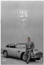 James Bond 24 - Spectre 007 Movie Silk Poster 24x36 inch