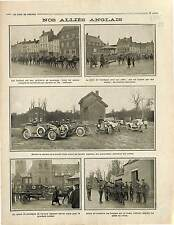 India Soldiers British Army Artillery Mulets mules Bataille de la Marne 1915 WWI